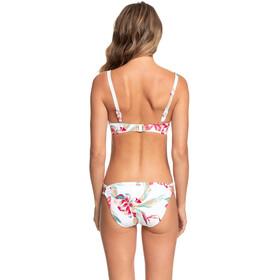 Roxy Lahaina Bay D-Cup Full Bottom Bikini Women bright white tropic call s